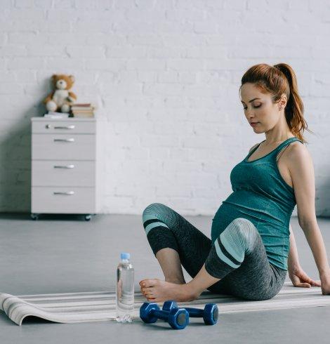 Ponte Fitness, aún estando embarazada